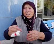 KADIN POLİS - 80 Yaşındaki Kadına Kapkaç Şoku
