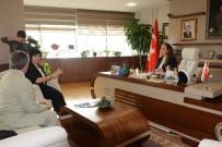 FEN EDEBİYAT FAKÜLTESİ - Adıgey Cumhuriyeti Televizyonu Rektöre Konuk Oldu