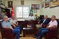 MEHMET AKıN - AK Parti Teşkilatından Yüreğir Ziraat Odası'na Ziyaret