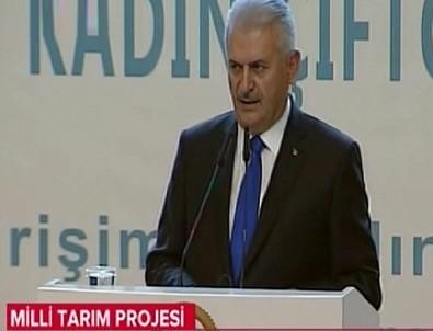 Başbakan Yıldırım tarım projesini açıkladı