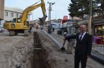 ALT YAPI ÇALIŞMASI - Başkan Şinasi Gülcüoğlu Alt Yapı Çalışmalarını İnceledi