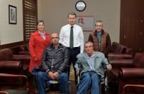 VATANDAŞLıK - Bedensel Engelliler Derneği Üyeleri Vali Çelik'i Ziyaret Etti