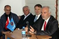 ATIK SU ARITMA TESİSİ - Belediye Başkanı Kamil Saraçoğlu, Birlik Vakfı'nın Konuğu Oldu
