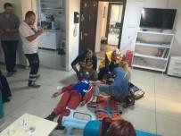 MANKENLER - Çanakkale 112 Personeline Olay Yeri Eğitimi