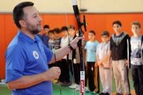 KAĞITHANE BELEDİYESİ - Çocuklar Okçuluk Sporuyla Stres Atıyor