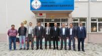 KAMU GÖREVLİLERİ - Eğitim-Bir-Sen'den Demirci'ye Ziyaret