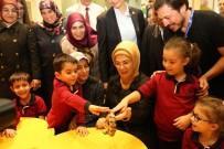 TEMEL ATMA TÖRENİ - Emine Erdoğan, Selçuklu Kelebek Bahçesini Gezdi