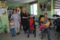 TEKERLEKLİ SANDALYE - Engelli Çocuğa Tekerlekli Sandalye Desteği