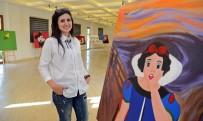 SÜLEYMAN DEMIREL ÜNIVERSITESI - EXPO'da 'Oyun İçinde Oyun' Sanatseverlerin Beğenisine Sunuldu