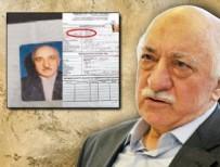 GÜLEN CEMAATİ - FETÖ elebaşı pasaport almak için de yalan söylemiş!