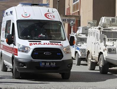 Hakkari'deki saldırıda yararlanan asker şehit oldu