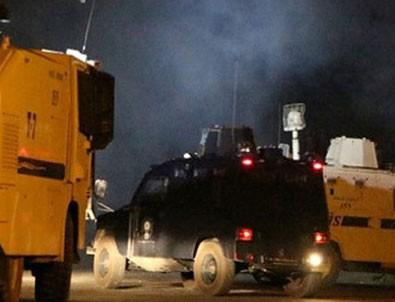 Polise bombalı ve roketli saldırı