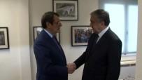 MUSTAFA AKINCI - Kıbrıslı Liderlerin Görüşmesi Başladı
