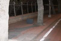 BOMBA İMHA UZMANI - Konya'da Şüpheli Çanta Fünye İle Patlatıldı