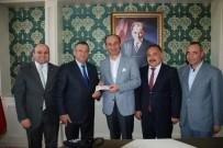 ÖĞRENCİ YURTLARI - Merinos Holdingden Adıyaman Emniyetine 100 Bin TL Bağış