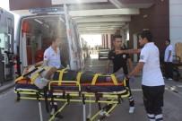MEHMET YıLDıRıM - Motosiklet Yayaya Çarpıp Kaçtı Açıklaması 1 Yaralı