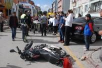 İZZET BAYSAL DEVLET HASTANESI - Motosikletli Kurye Ölümden Döndü