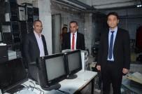 KARABAĞ - Sarıkamış'ta Köy Okullarının Bilgisayarları Yenilendi