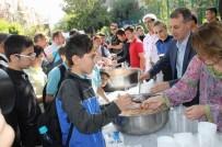 GÜREŞ - Siirt Emniyet Müdürlüğü Aşure Dağıttı