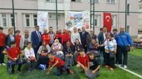 TEVFİK İLERİ - Yaşlılar Ve Protokol, Çocuklar İçin Bocce Maçı Yaptı