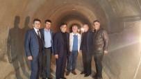 MUZAFFER YALÇIN - Başkan Yalçın, Dereköy Barajı'nda İncelemelerde Bulundu