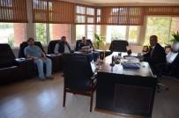 KAĞIT FABRİKASI - Başkan Yaman, Fabrika Müdürleri İle Bir Araya Geldi