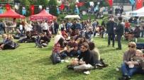 FESTIVAL - Beşiktaş Sokak Lezzetleri Festivaline Vatandaşlardan Yoğun İlgi