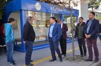 ZIRAAT BANKASı - Bu Duraklar Vatandaşları Hem Sıcaktan Hem De Soğuktan Koruyor