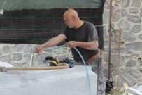 BULGAR - Bulgaristan Cumhurbaşkanı Adayının Yaptığı Suriye Heykeli Tekirdağ'da