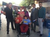 TEKERLEKLİ SANDALYE - Büyükşehir Minik Polat'ın Yüzünü Güldürdü