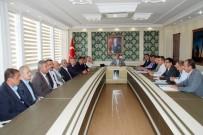 ABDULLAH ERIN - Kahta Mülk Göletinin Islah Toplantısı Yapıldı