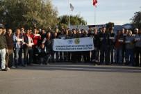 GIRESUNSPOR - Odunpazarı Belediyesi Fen İşleri Personelinden Eskişehirspor'a Destek