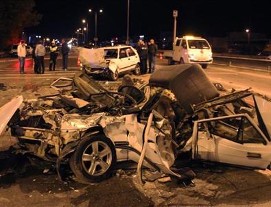 Sakarya'da zincirleme trafik kazası: 3 ölü, 1 yaralı