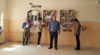 KİTAP OKUMA - Viranşehir'de Liseli Kızlardan 'Al Götür,Oku Getir'Projesi