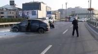 E-5 KARAYOLU - KPSS'ye Yetişmeye Çalışan Genç Ölümden Döndü
