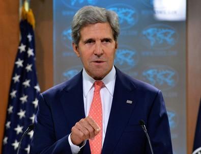 Kerry'den flaş Suriye açıklaması!