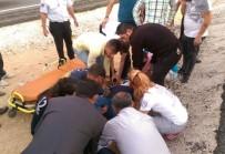KAŞAĞı - Nusaybin Trafik Kazası Açıklaması 2 Yaralı