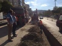 Soma Atatürk Caddesi'ne Yağmur Suyu Hattı