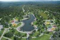 FUTBOL SAHASI - Vakıf Parkı Şekillenmeye Başladı