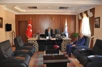 Başkan Samur'dan Kaymakam Yüksel'e Hayırlı Olsun Ziyareti