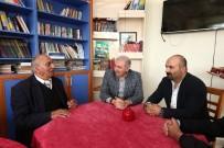 CEMEVI - Başkan Uysal, Ağu İçen Cemevi'ni Ziyaret Etti