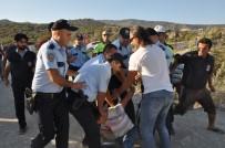 BEYMELEK - Beymelek - Finike Maçında Taraftarlar Arasında Arbede