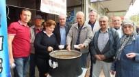 Burhaniye MHP Aşure Hayrı Yaptı