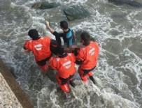 GENÇ KIZ - Tekirdağ'da liseli kız dalgalara kapılıp öldü