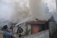 HAMIDIYE - Elektrikli Isıtıcı Yangına Sebep Oldu