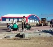 İNŞAAT ALANI - Kapalı Pazaryerinde Otopark Yapımı Devam Ediyor