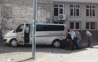POLİS MERKEZİ - Keşfe Giden Hakimin Aracına Ses Bombalı Saldırı