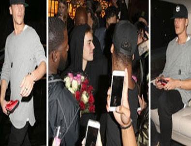 Mesut Özil doğum gününü Justin Bieber'la kutladı