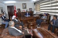 KARACADAĞ - Muhtarlardan Belediye Başkanı Yılmaz'a Teşekkür Ziyareti