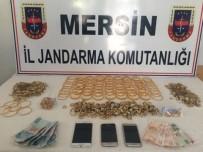 DOLANDıRıCıLıK - Sahte Savcılar 4,5 Kilo Altınla Yakalandı